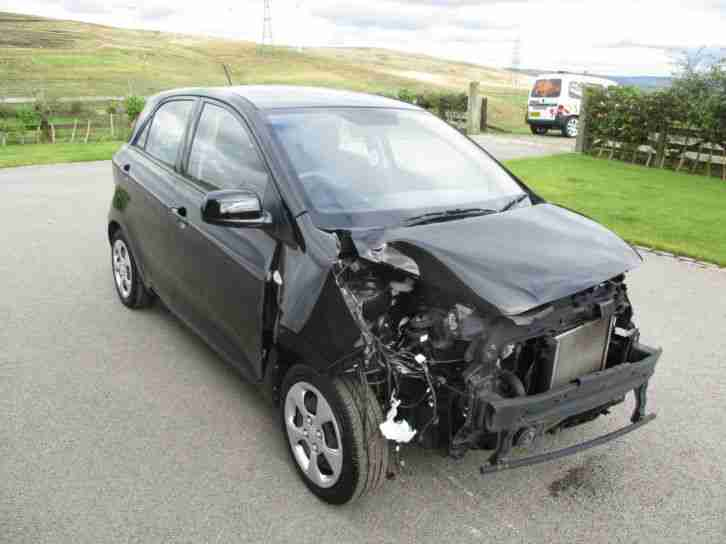 Kia PICANTO 1.0 1 2014 (14) DAMAGED REPAIRABLE