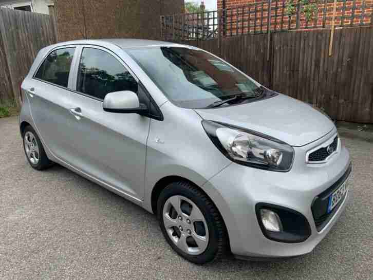 Kia Picanto air 1.0 2013 manual with full kia service history only 76000 miles