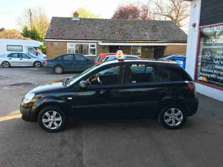 Kia rio 1 4 ice 5 door petrol cheap insurance tax only for Garage kia 95