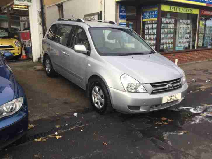 Kia Sedona 2.9CRDi GS 2007 7 seater silver manual