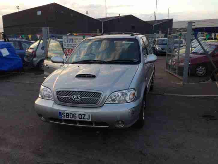 Kia Sedona 2.9CRDi. Kia car from United Kingdom