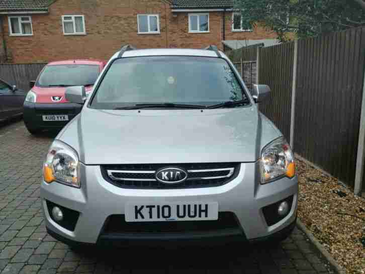 Kia Sportage 2.0 XE 2WD Metallic Silver FSH Side Steps 16 Alloys