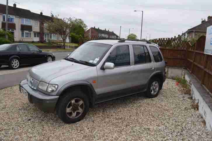 Kia Sportage 4x4 2003 87k on the clock short