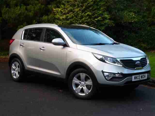 Kia Sportage KX. Kia car from United Kingdom