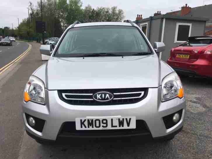 Kia Sportage xe. Kia car from United Kingdom