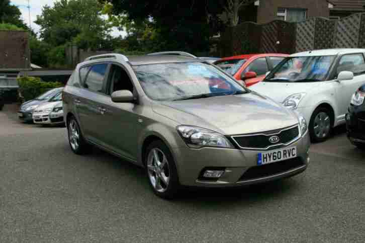 Kia ceed 1.6TD ( 114bhp ) AUTOMATIC 2010MY 3 ESTATE,51K,HIST,ALLOYS,AC