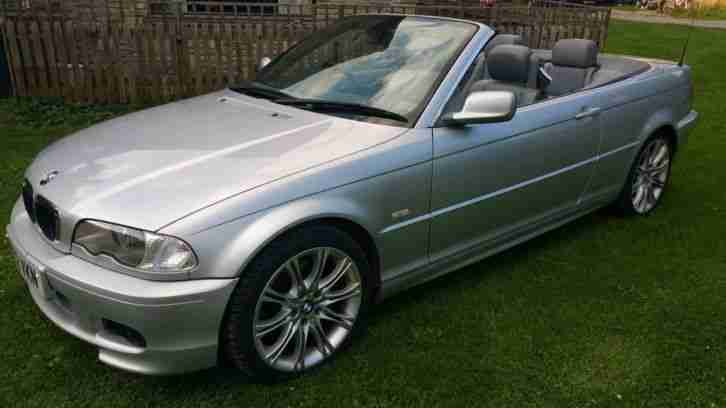 L@@K 330 CI E46 SILVER CONVERTIBLE LOW