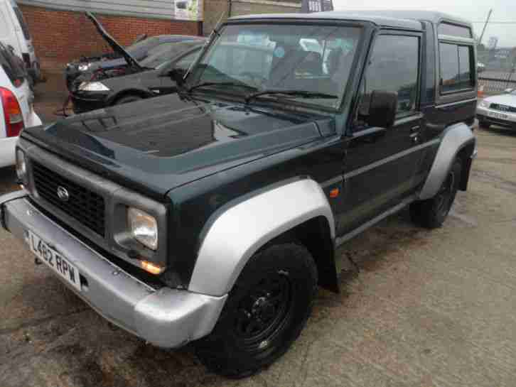 L REG DAIHATSU FOURTRAK INDEPENDENT TDX LONG MOT £££££££££ SPENT ON PARTS