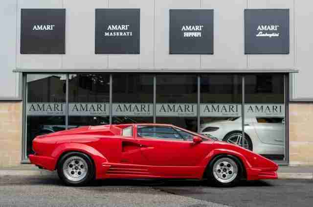 Lamborghini Countach 5 2 V12 25th Anniversary Car For Sale