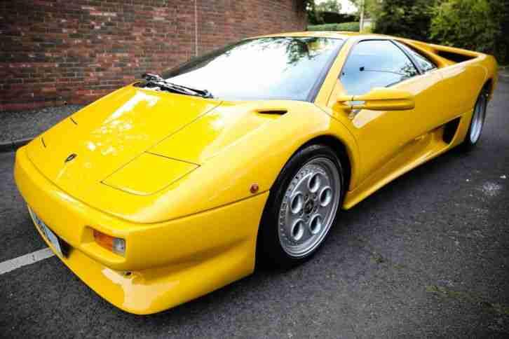 Lamborghini Diablo Coupe 1 Series Great Condition Car For Sale