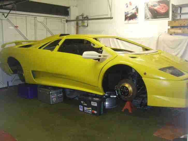 Lamborghini DIABLO KIT. Lamborghini Car From United Kingdom