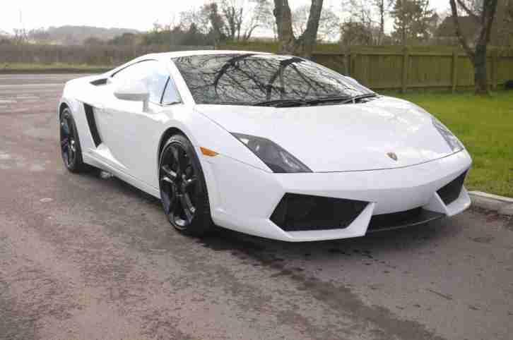 Lamborghini GALLARDO LP560 4 E Gear , White, Auto, Diesel