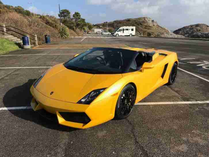 Lamborghini Gallardo Lp560 4 Spyder E Gear 5 2 V10 Flsh Big Spec