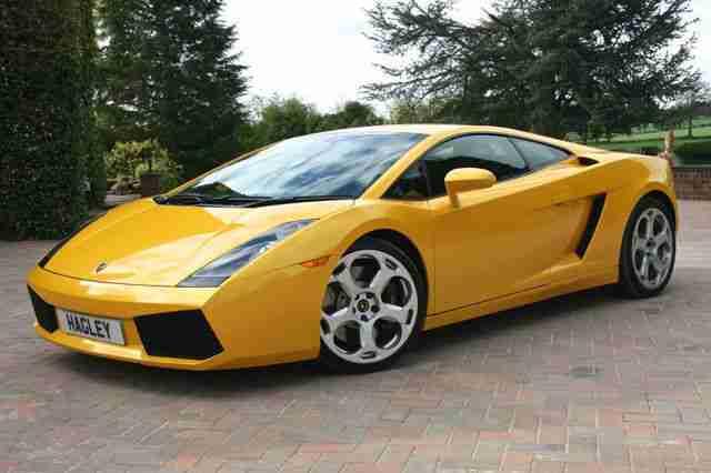 Lamborghini Gallardo V10 5 Litre E Gear Coupe Car For Sale