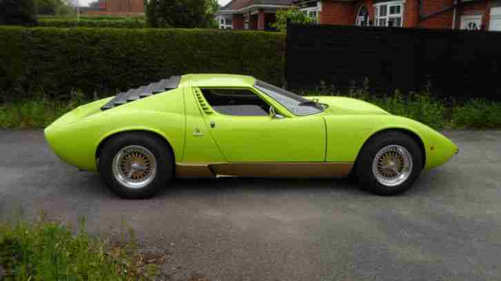 Lamborghini Miura Sv Replica Car For Sale
