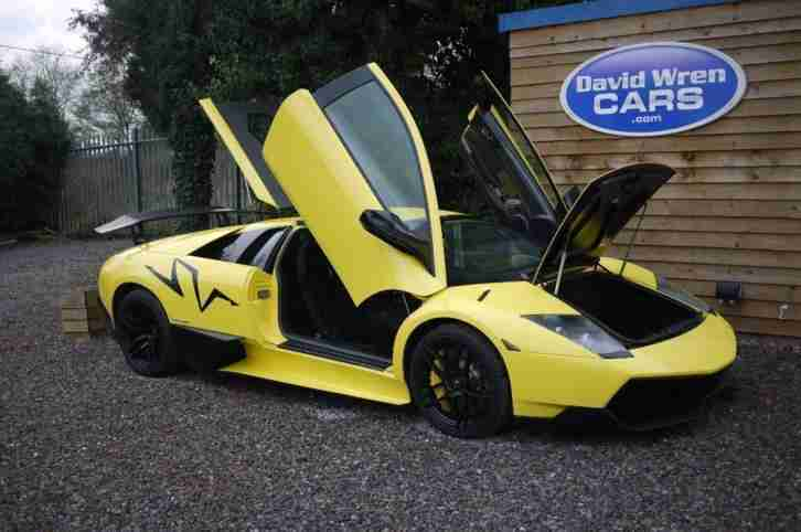 Lamborghini Murcielago 670 4 Sv Yellow Auto Petrol 2009 Car For