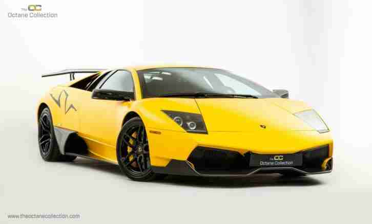 Lamborghini MURCIELAGO SV. Lamborghini car from United Kingdom
