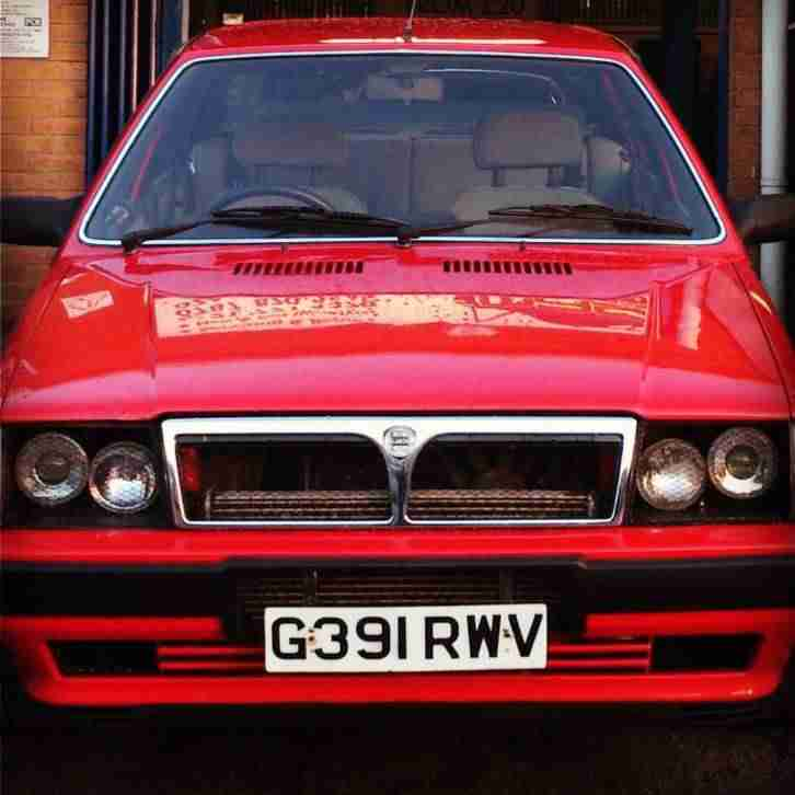 Lancia PRISMA INTEGRALE TURBO 4WD RHD DELTA SALOON. Car
