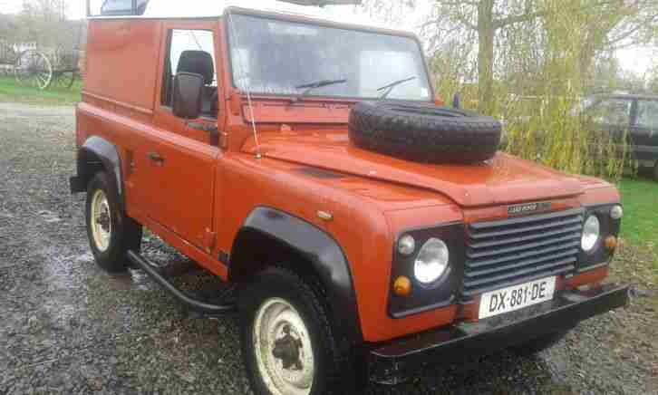 LAND ROVER 90 FRENCH REGISTERED, NOT LEFT