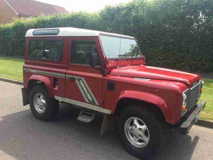 land rover defender 90 300tdi county station wagon low mileage car for sale. Black Bedroom Furniture Sets. Home Design Ideas