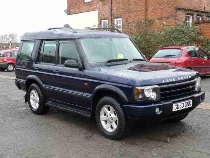 LAND ROVER DISCOVERY 2.5Td5 GS AUTO 7 SEATER