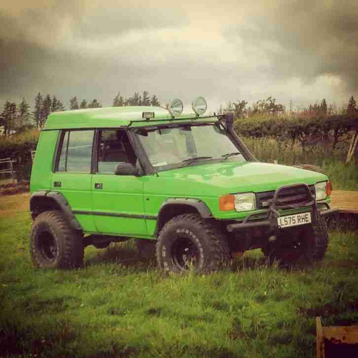 Land Rover Discovery 1 3 Door For Sale: LAND ROVER DISCOVERY BOBTAIL OFFROAD ROAD LEGAL. Car For Sale