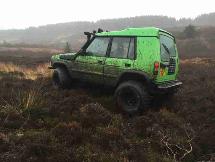Land Rover Discovery Bobtail Offroad Road Legal Car For Sale