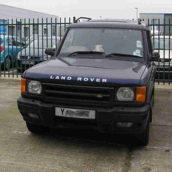 LAND ROVER DISCOVERY ES Auto Diesel 2001. Car For Sale