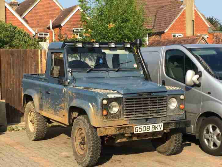 LAND ROVER Defender 90, Pick up, 4x4