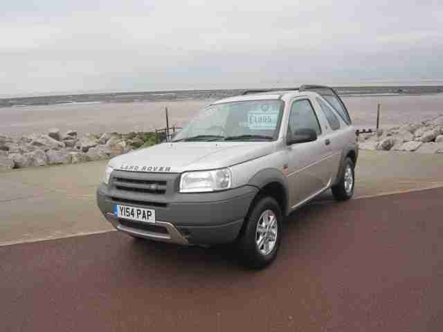 LAND ROVER FREELANDER 1.8 GS Hardback