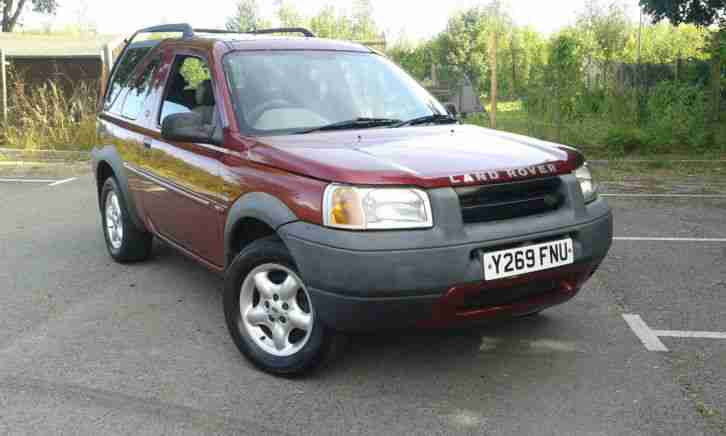 LAND ROVER FREELANDER ES MET RED FULL HEATED