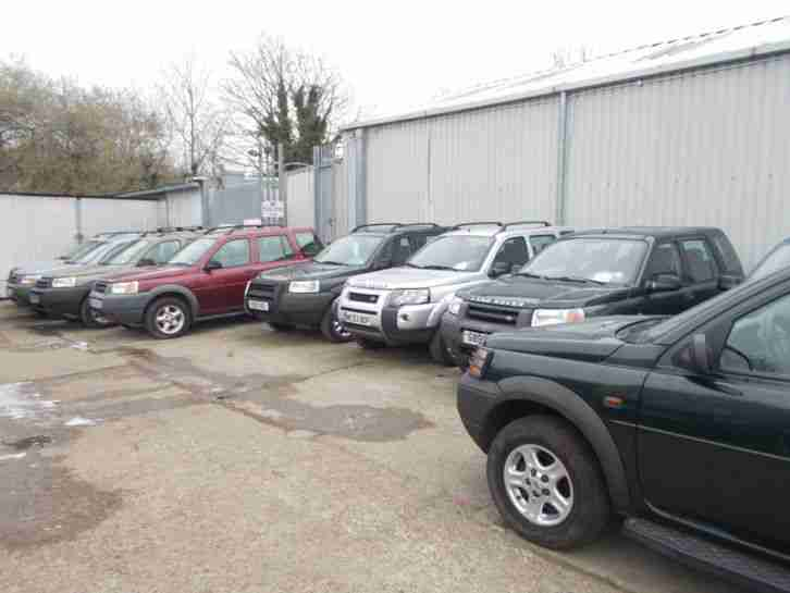Land Rover Freelander Gs Left Hand Drive Lhd