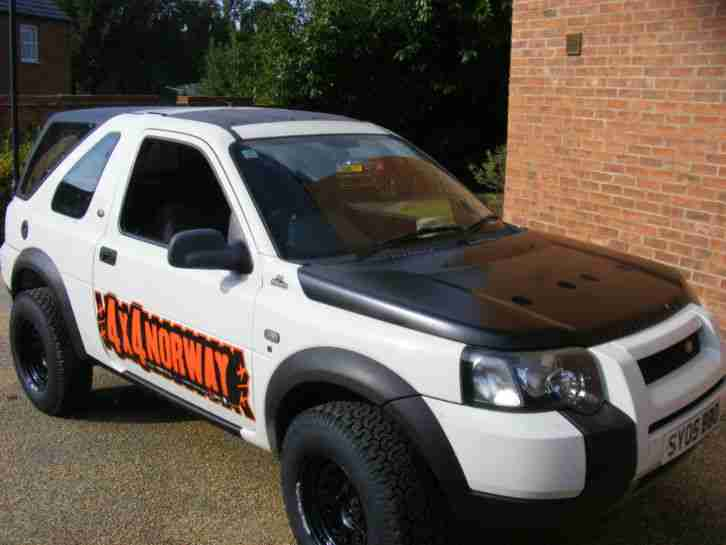 Land Rover Freelander Off Road Ready Expedition Laner