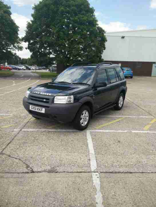 LAND ROVER FREELANDER TD4 GS AUTO GREEN 2001 - FSH
