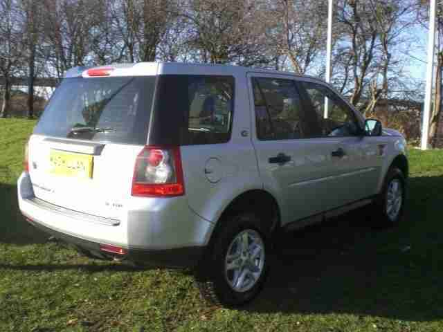 LAND ROVER FREELANDER TD4 S 2008 Diesel Manual in Silver