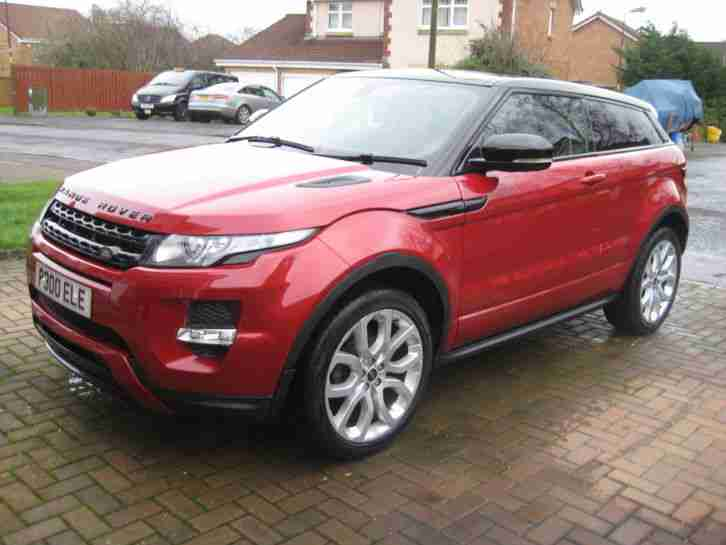 LAND ROVER RANGE ROVER EVOQUE 2.0 Si4 DYNAMIC LUX FULLY LOADED
