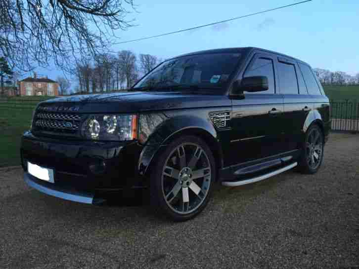 land rover range rover sport hse 2007 tdv6 full 2012. Black Bedroom Furniture Sets. Home Design Ideas