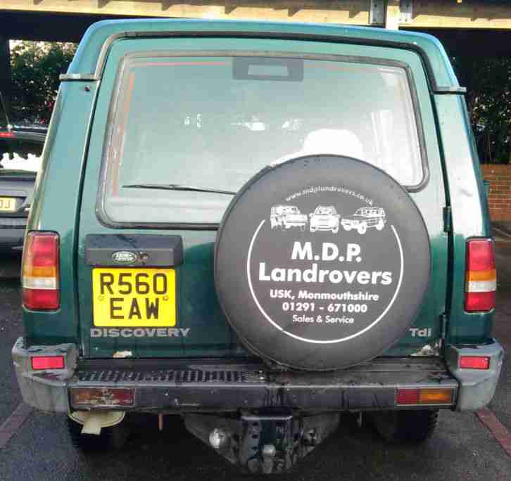 LANDROVER DISCOVERY 300 TDI AVIEMORE 8 MONTHS MOT 4X4