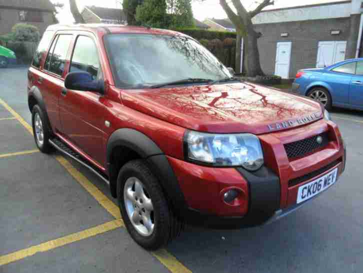 LANDROVER FREELANDER 2.0TDI. Land & Range Rover car from United Kingdom