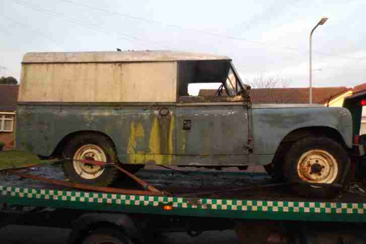 Landrover Series 2 Lwb Blue F Reg 1967 One Owner From New Spares Or Repairs