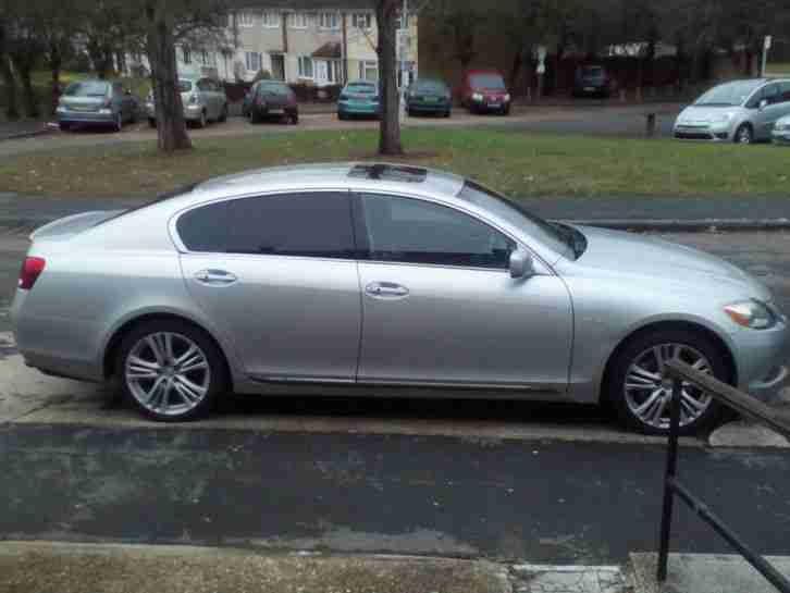 lexus gs 450h se l a silver car for sale. Black Bedroom Furniture Sets. Home Design Ideas