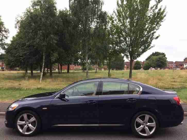 LEXUS GS300 2005 3.0 CVT SE L (LOW TAX MODEL) SAT NAV + SE L SPEC