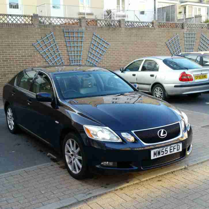 lexus gs300 se auto blue dec 2005 car for sale. Black Bedroom Furniture Sets. Home Design Ideas