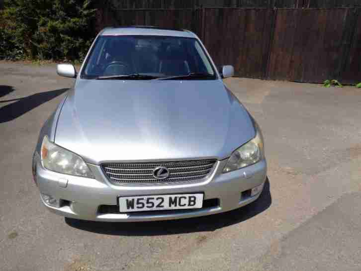 LEXUS IS 2000 Manual 130000 Petrol Silver Petrol Manual in Silver