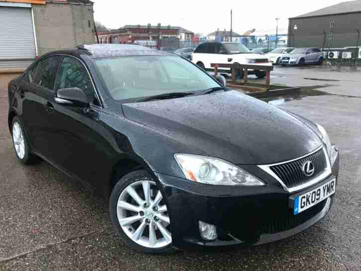 LEXUS IS 220D 2.2 TD SE L TOP OF RANGE 2009 88K,SUNROOF,SAT NAV,CAMERA,2 OWNERS