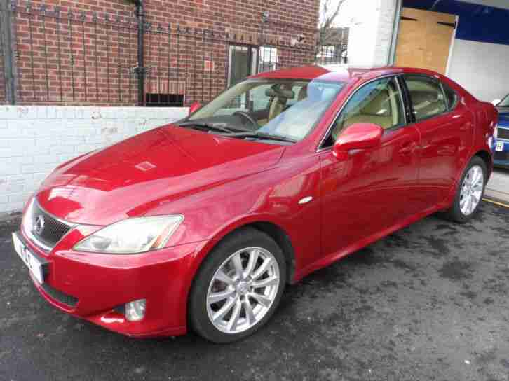 lexus is 220d full leather interior fsh car for sale. Black Bedroom Furniture Sets. Home Design Ideas