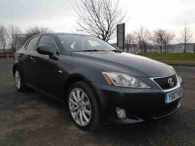 lexus is 220d se grey 2007 07 reg car for sale. Black Bedroom Furniture Sets. Home Design Ideas