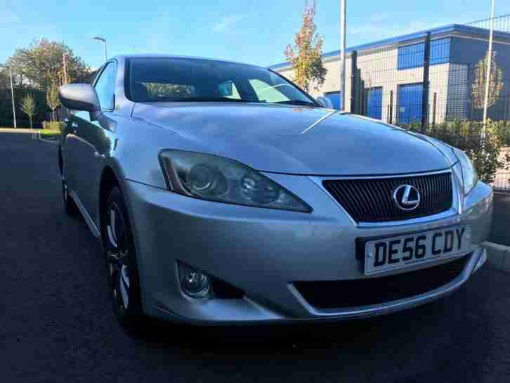 LEXUS IS 220d 2.2TD SE LEATHER ALLOYS FSH RECENT SRVCE BARGAIN DIESEL CHEAP