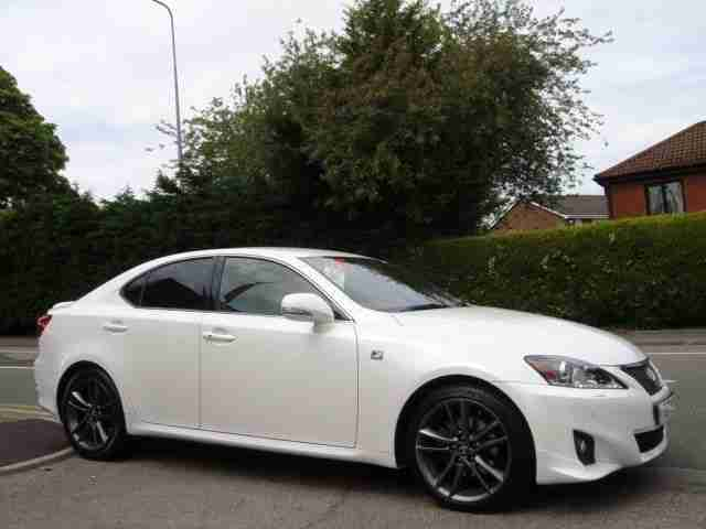 lexus is 250 f sport 2012 petrol automatic in white car. Black Bedroom Furniture Sets. Home Design Ideas