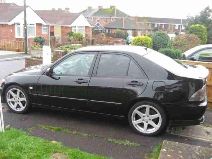 Lexus Is200 Sport Black Excellent Condition Full Service